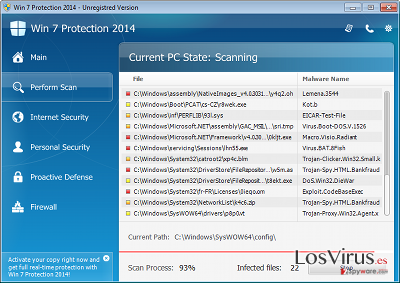 Win 7 Protection 2014 foto