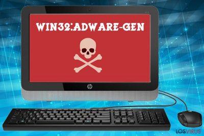 Virus Win32 Adware-gen