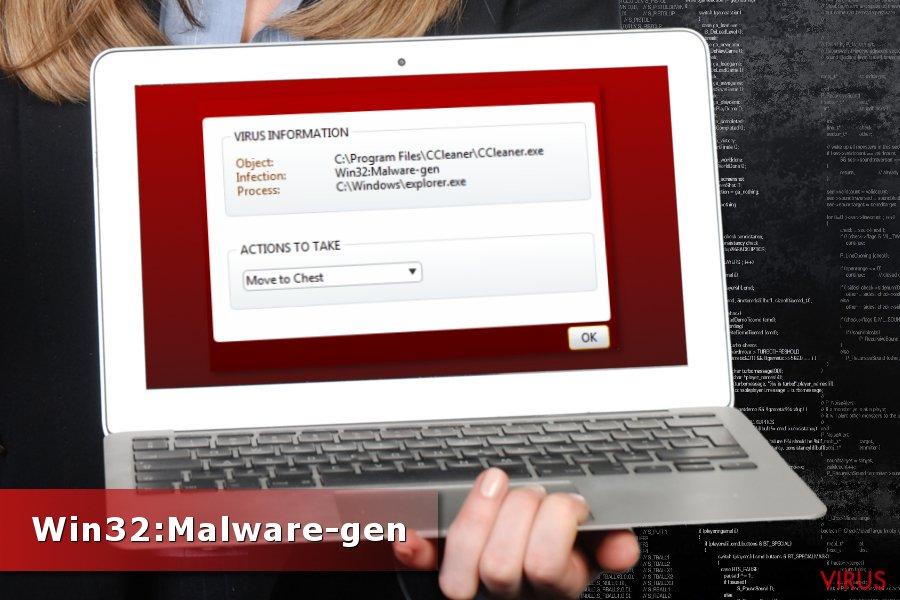 Detección de Win32:Malware-gen