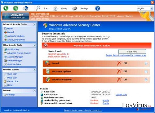 Windows AntiBreach Module foto
