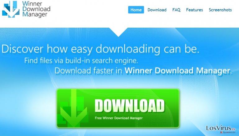 Winner Download Manager foto