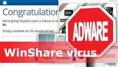 Ilustración del virus WinShare