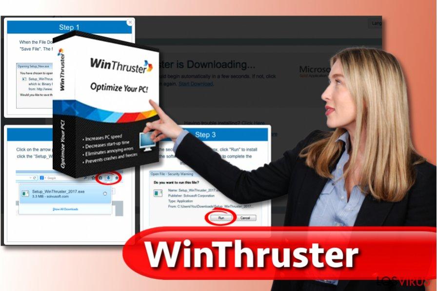 El virus WinThruster
