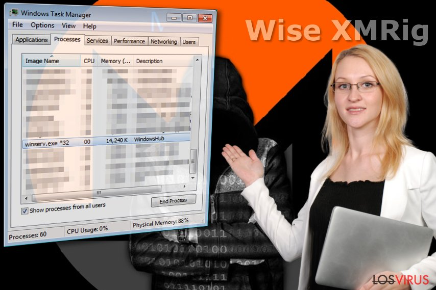 Wise XMRig virus