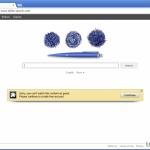 El virus de redirección Yahoo foto