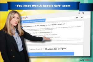 You Have Won A Google Gift