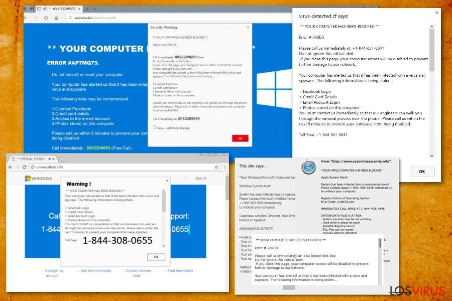 """El virus """"Tu ordenador ha sido bloqueado"""" foto"""