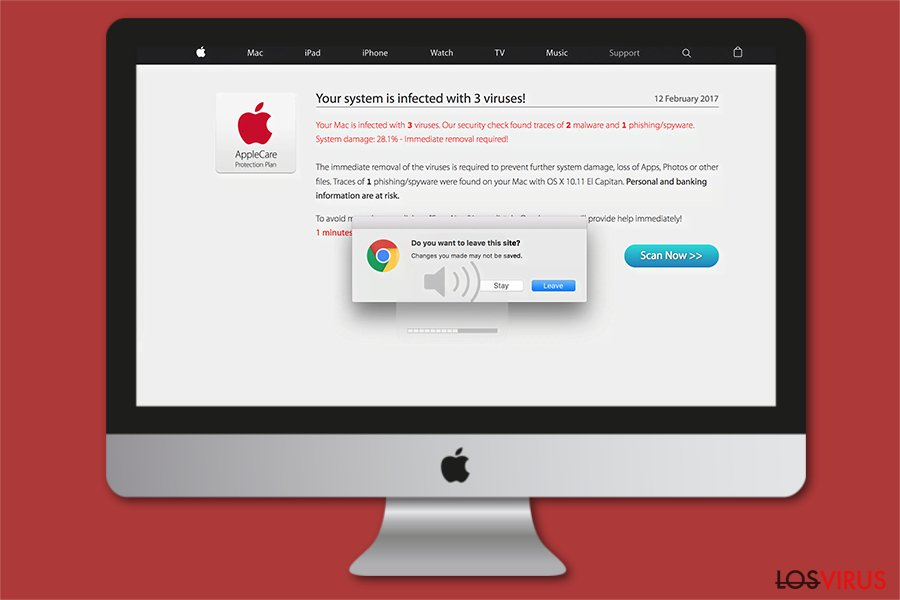 Imagen de Tu Mac está infectado con 3 virus