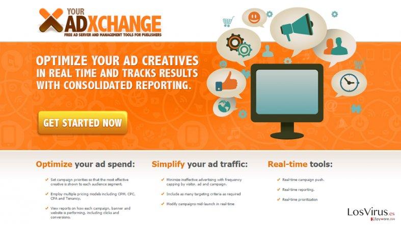 Los anuncios de YourAdExchange.com foto