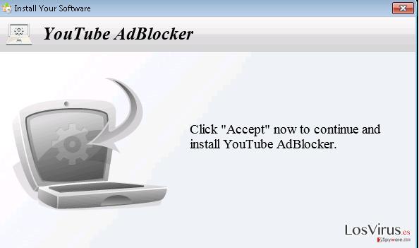 El adware YoutubeAdBlocker foto