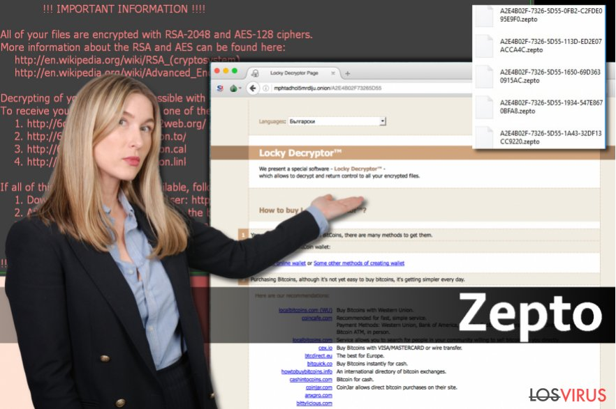 El virus Zepto foto