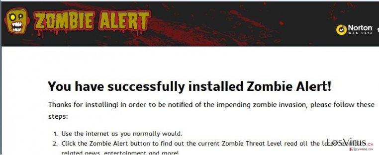El virus Zombie Alert foto