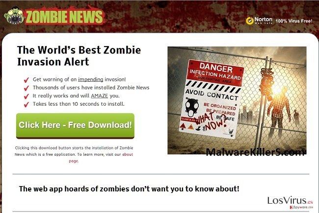 Zombie News foto
